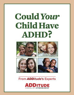 Could Your Child Have ADHD Printable Cover 240px