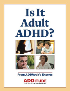 Is It Adult ADHD? Printable Cover 240px
