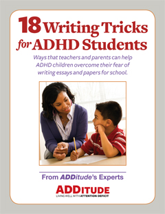 18 Writing Tricks for ADHD Students