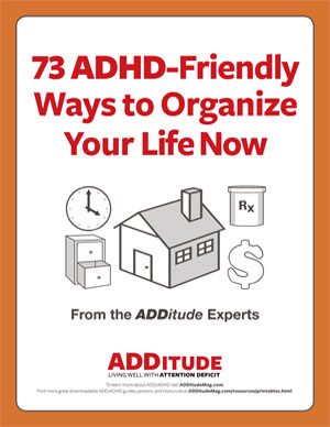 73 ADHD-Friendly Ways to Organize Your Life