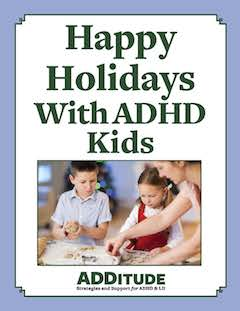 Happy Holidays with ADHD Kids Printable Cover 240px