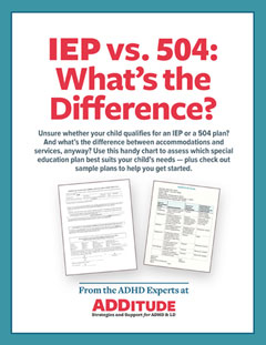 IEP vs 504: What's the Difference?