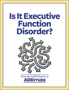 Is It Executive Function Disorder?