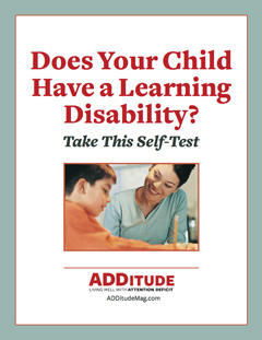 Learning Disability Self-Test