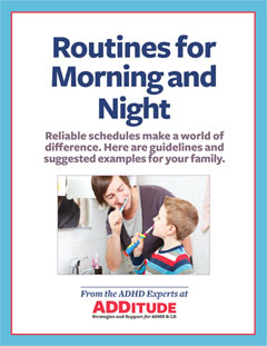 Routines for Morning and Night