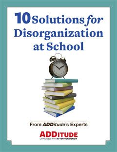 Solutions for Disorganization