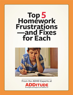Top 5 Homework Frustrations Printable Cover 240px
