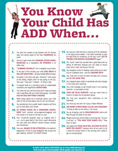 You Know Your Child Has ADHD When